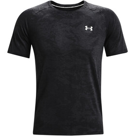 Under Armour Streaker 2.0 Camo Short Sleeve Shirt Men black